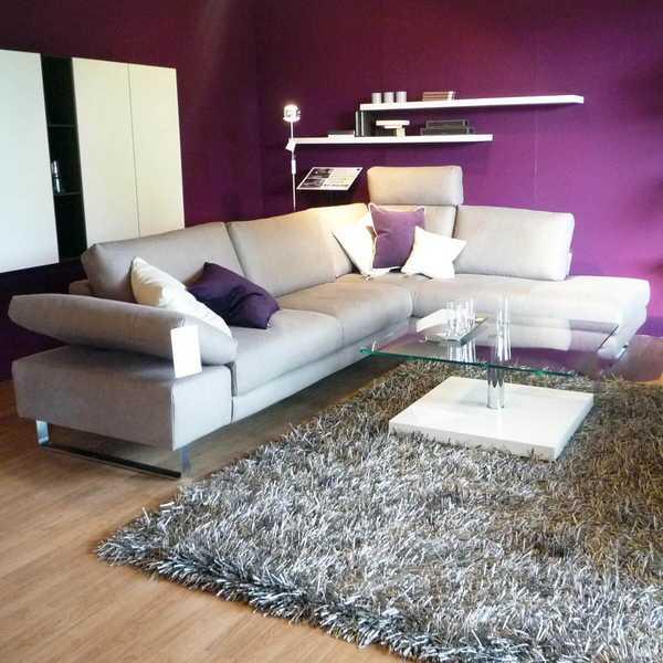 8797 sensa couch sofa ecksofa wk boxspring leder velvet metallkufe funktion kopfstuetze hockerbank flexablage muenster