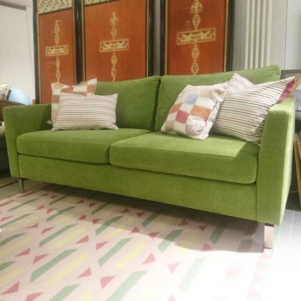 7490 sensa couch sofa olymp basil gruen weich muenster