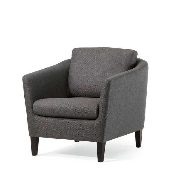 sensa sofa zonta stoff dunkel grau zweisitzig einhalbsitzig abklappbare armlehnen muenster