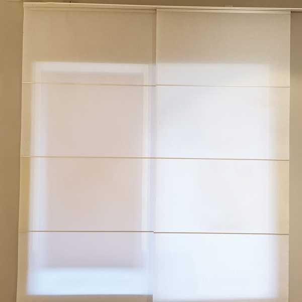 fensterdeko deko lamellenvorhang skipaneel paneel flaechenvorhang gardine schiebegardine sensa einrichtungen muenster