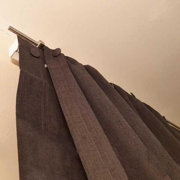 deko dekoration fensterdeko dekoschal gardine vorhang grau sensa einrichtungen muenster
